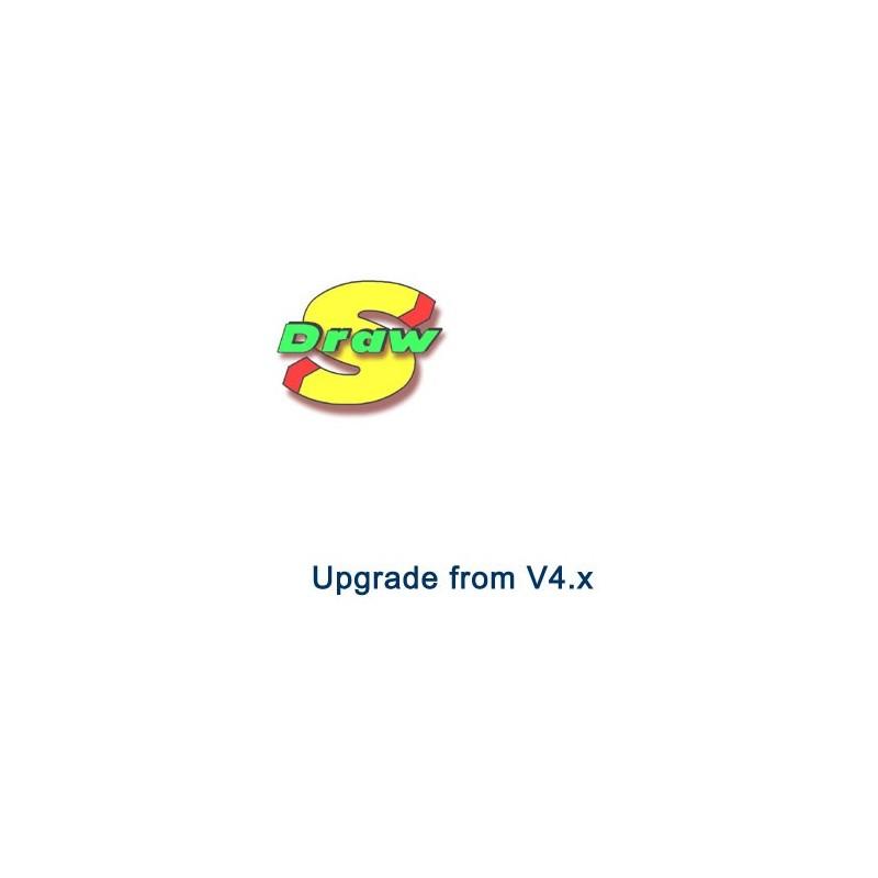 SDraw - Upgrade from V4.x to V5.x